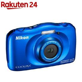 ニコン デジタルカメラ クールピクス W150 ブルー(1台)【クールピクス(COOLPIX)】
