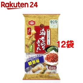 海老のりあられ(73g*12袋セット)【亀田製菓】