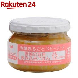 野菜の五目炊き込みごはん(100g)【イチオシ】【有機まるごとベビーフード】