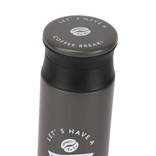 コーヒービーンズカフェマグボトル500mlチャコールBKND-6819
