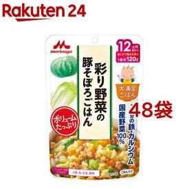 大満足ごはん 彩り野菜の豚そぼろごはん(120g*48袋セット)【大満足ごはん】