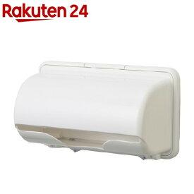 プラススマート キッチンペーパーホルダー ピュアホワイト(1個)