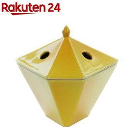 縁香炉 黄(1コ入)【日本香堂】