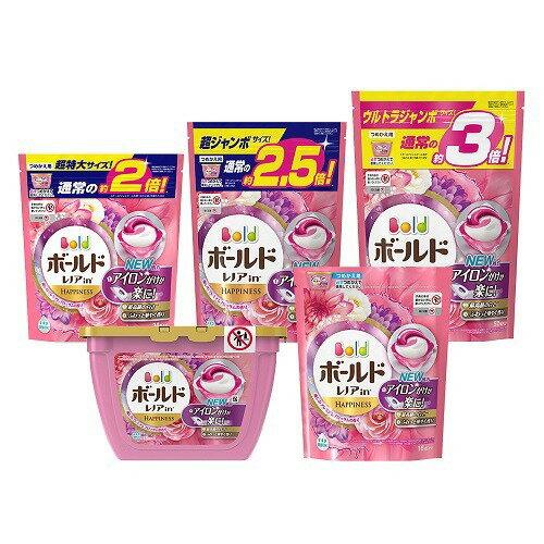 ボールド洗濯洗剤ジェルボール3D癒しのプレミアムブロッサムの香り詰替超ジャン