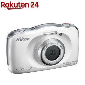 ニコン デジタルカメラ クールピクス W150 ホワイト(1台)【クールピクス(COOLPIX)】