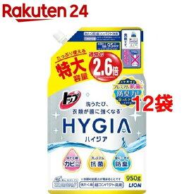 トップ ハイジア つめかえ用特大(950g*12袋セット)【3brnd-3all】【ハイジア(HYGIA)】