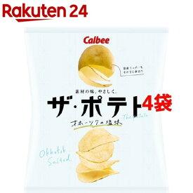 ザ・ポテト オホーツクの塩味(55g*4袋セット)