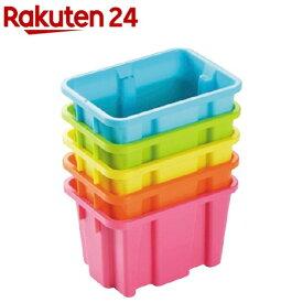 冷蔵庫でカラフルボックスSS 5色組 34658(5色組)