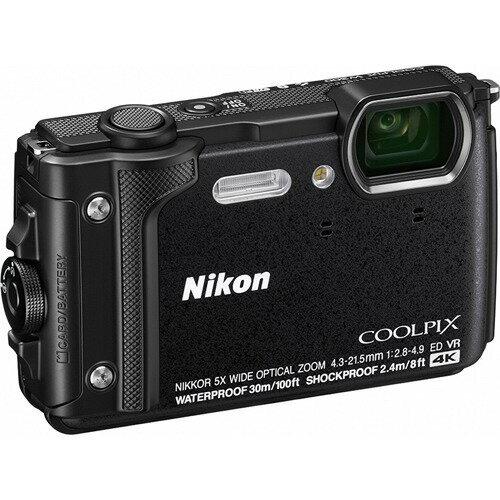ニコンデジタルカメラクールピクスW300ブラック
