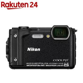 ニコン デジタルカメラ クールピクス W300 ブラック(1台)【クールピクス(COOLPIX)】