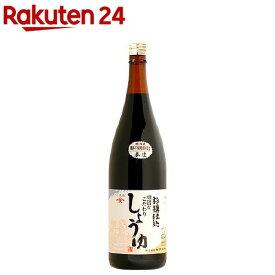 頑固本生濃口醤油(1.8L)