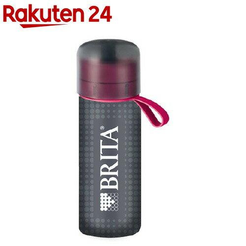 【企画品】ブリタ ボトルカバー付き フィル&ゴー アクティブ ピンク(1セット)【ブリタ(BRITA)】