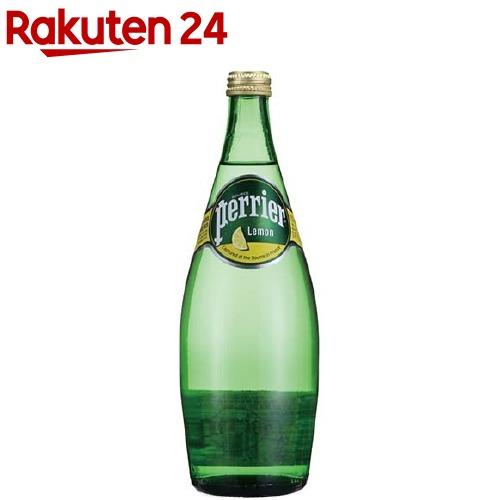 ペリエ レモン (無果汁・炭酸水)(750mL*12本入)【ペリエ(Perrier)】[ミネラルウォーター 水]