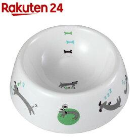 犬用陶製食器 わんこの1日 Mサイズ DP-813(1コ入)