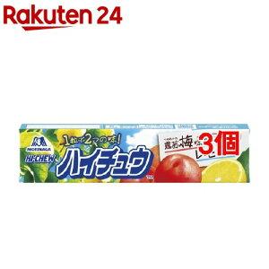 森永 ハイチュウ 露茜梅&レモン(12粒*3個セット)【ハイチュウ】