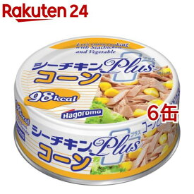 シーチキン プラス コーン(80g*6コ)【シーチキン】[缶詰]