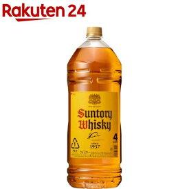 サントリー ウイスキー 角瓶 ペット(4L)【角瓶】