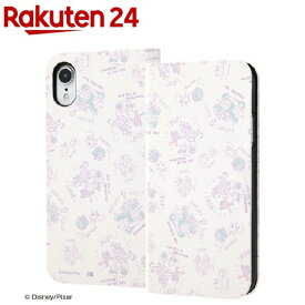 iPhone XR 手帳型アートケース マグネット スリム モンスターズ・インク20(1コ入)【イングレム】
