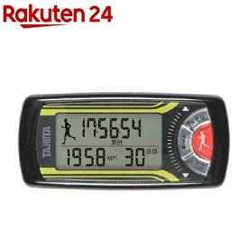 タニタ 活動量計 カロリズム フォージョギング メタリックブラック EZ-063-BK(1台)【タニタ(TANITA)】