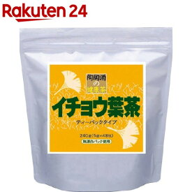 陶陶酒の健康茶 イチョウ葉茶 ティーバック(48包)【陶陶酒】