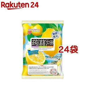 蒟蒻畑 レモン味(12個入*24袋セット)【蒟蒻畑】