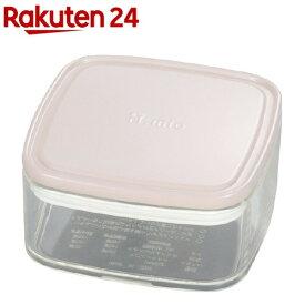 iL mio(イルミオ) クリアーパック ランチ ピンク S(1コ入)[お弁当箱]