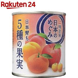 日本のめぐみ 日本育ち 5種の果実(215g)