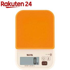 タニタ デジタルクッキングスケール オレンジ KJ-110M-OR(1コ入)【タニタ(TANITA)】