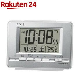 セイコー 電波目覚まし時計 NR535W(1台)【セイコー】
