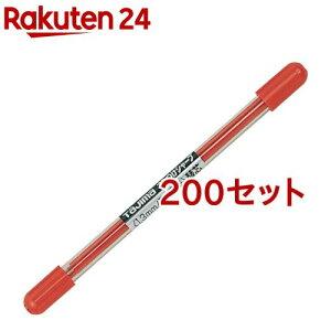 タジマ すみつけシャープ(1.3mm) 硬質赤替芯 SS13S-RED(6本入*200セット)【タジマ】