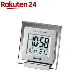 カシオ 置時計 シルバー DQ-735-8JF(1個入)