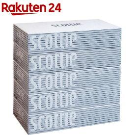 スコッティティシュー(400枚(200組)*5箱パック)【3brnd-11】【evm2】【bnad01】【スコッティ(SCOTTIE)】[ティッシュ]