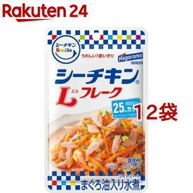 シーチキンスマイル Lフレーク(60g*12コセット)【シーチキン】[缶詰]