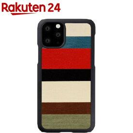 マン&ウッド iPhone 11 Pro 天然木ケース Corallina I16835i58R(1個)【マン&ウッド(Man&Wood)】
