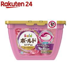 ボールド 洗濯洗剤 ジェルボール3D 癒しのプレミアムブロッサムの香り 本体(18コ入)