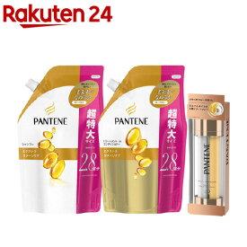 パンテーン エクストラダメージ 詰替 2.8回分 ペア+オイルセラム(1セット)【PANTENE(パンテーン)】