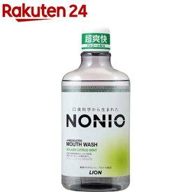 ノニオ マウスウォッシュ スプラッシュシトラスミント(600ml)【LB11BIYK】【ノニオ(NONIO)】