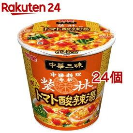 中華三昧 赤坂榮林 麺なしトマト酸辣湯(24個セット)【中華三昧】