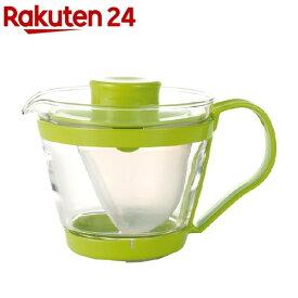 イワキ レンジのポット・茶器 まっちゃ色 K863-G(1コ入)【イワキ(iwaki)】
