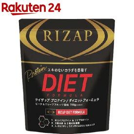 ライザップ プロテイン ダイエットフォーミュラ ピーチ&グレープフルーツ風味(750g)