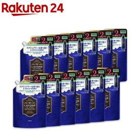 ラボン 柔軟剤 詰替え ラグジュアリーリラックス 大容量(960ml*12袋セット)【ラボン(LAVONS)】