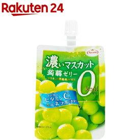 濃い蒟蒻ゼリー 0kcaL マスカット味(150g*6個)【たらみ】