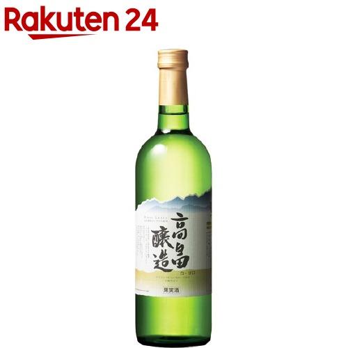 高畠ワイン 高畠ブラン 白 甘口(720mL)