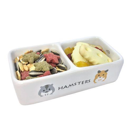 ミニマルランドハムちゃんのダブル食器