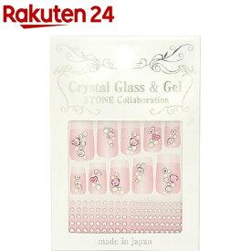 クリスタルガラス&ジェル ストーンコラボレーション PSS-18(1パック)