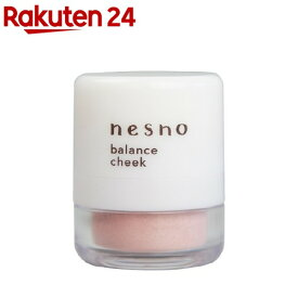 ネスノ バランスチーク P1 ナチュラルピンク(3g)【ネスノ(nesno)】