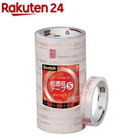スコッチ 超透明テープ S 工業用包装 18mm BK-18N(10巻)