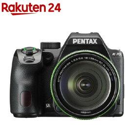 ペンタックス K-70 18-135WR キット ブラック(1台)【ペンタックス(PENTAX)】