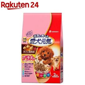 愛犬元気 健康に育つ子犬用 チキン・ささみ・緑黄色野菜・小魚入り(2kg)【愛犬元気】[ドッグフード]