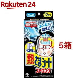 冷凍庫用 熱さまシート ストロング 大人用(12枚入*5箱セット)【熱さまシリーズ】